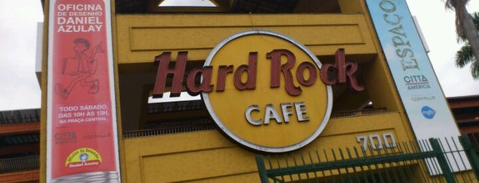 Hard Rock Cafe Rio de Janeiro is one of Locais salvos de Raphael.