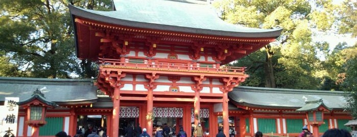 Hikawa-Jinja Shrine is one of People, Places, and Things.