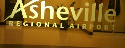 Asheville Regional Airport (AVL) is one of Big Country's Airport Adventures.