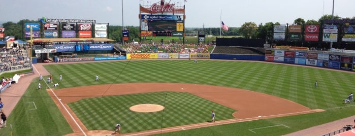 Coca-Cola Park is one of Sporting/Concert....