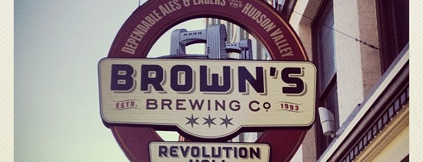 Brown's Brewing Company is one of Ultimate Brewery List.