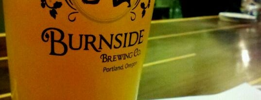 Burnside Brewing Co. is one of Portland.