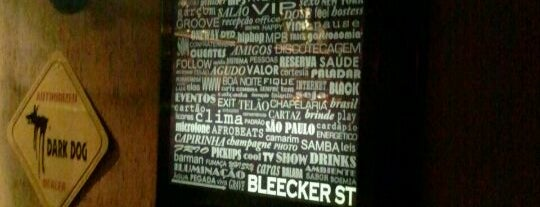 Bleecker St. is one of Pubs e butecos (talves alguns bares tbm).
