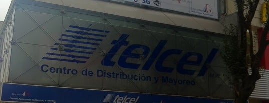 Telcel is one of ¡Arriba!.