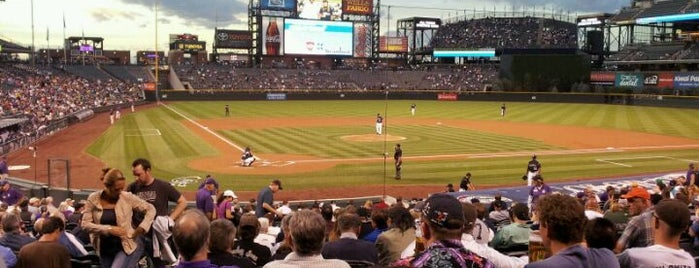 Coors Field is one of Ballparks Across Baseball.