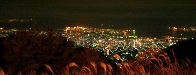 鉢巻展望台 is one of 日本夜景遺産.