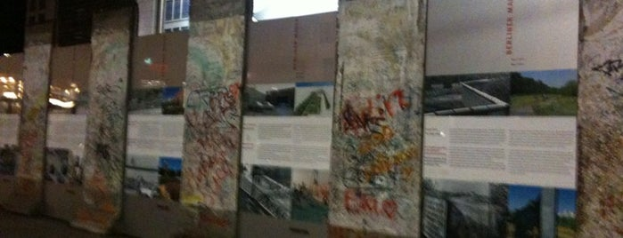 Baudenkmal Berliner Mauer is one of Berlin And More.