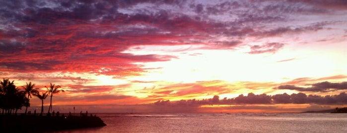 Magic Island is one of The Beaches in Hawaii.