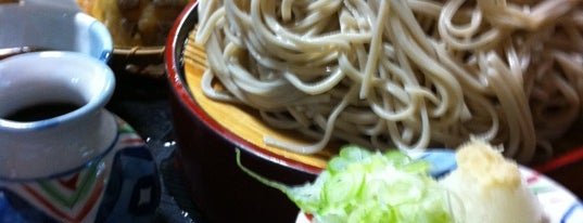 そば処 多聞 is one of Tempat yang Disukai Masahiro.