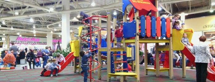 Детская Площадка IKEA is one of Aleksandr : понравившиеся места.