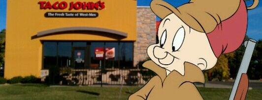 Taco John's is one of Orte, die Dan gefallen.
