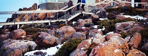 Mount Wellington is one of Tassie.