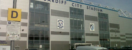 Cardiff City Stadium is one of Part 1~International Sporting Venues....