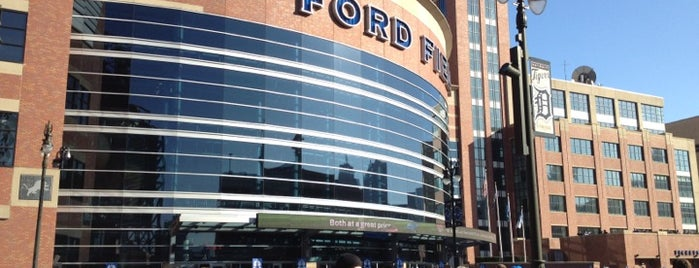 Ford Field is one of Best Stadiums.