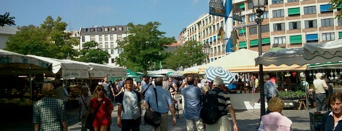 Viktualienmarkt is one of All the great places in Munich.