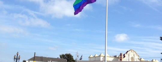 Castro Pride Flag Pole is one of Castro: Tales Of The Village.