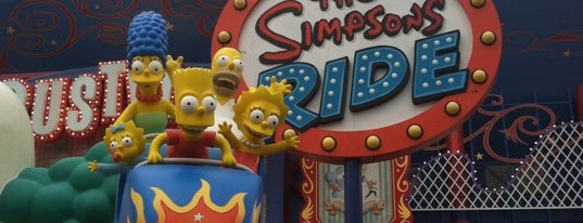 The Simpsons Ride is one of My vacation @Orlando.