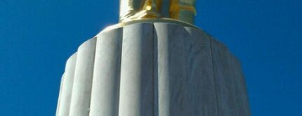 Oregon State Capitol Building is one of Famous Statues Around the World.
