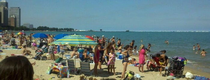 Oak Street Beach is one of Chi Town.