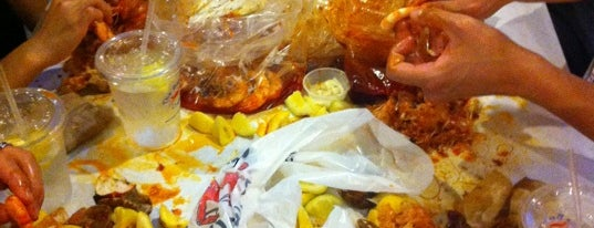 The Boiling Crab is one of ktown..