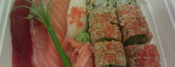 Nu Sushi is one of Bento Badge.