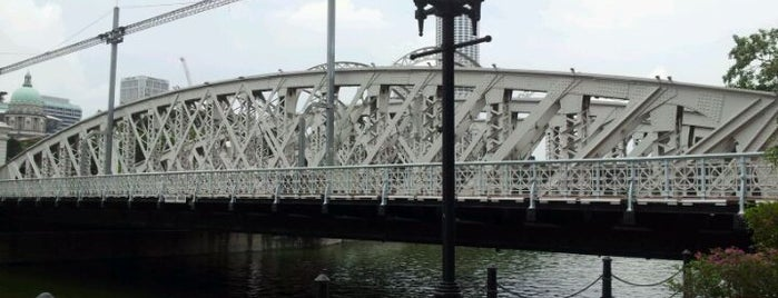 Anderson Bridge is one of Singapore/シンガポール.