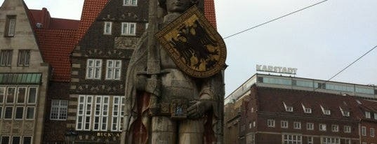 Bremer Roland is one of 100 обекта - Германия.