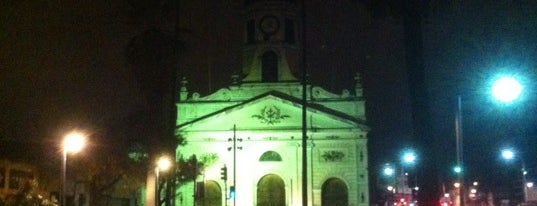 Iglesia y Convento de la Recoleta Franciscana is one of Lugares, plazas y barrios de Santiago de Chile.