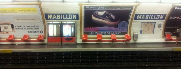 Métro Mabillon [10] is one of Went before.