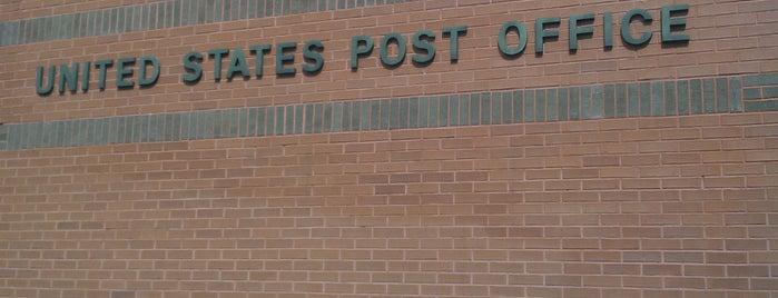 US Post Office is one of Tempat yang Disukai Merilee.