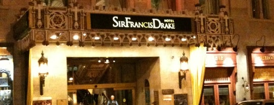 Kimpton Sir Francis Drake Hotel is one of Lugares favoritos de Swen.