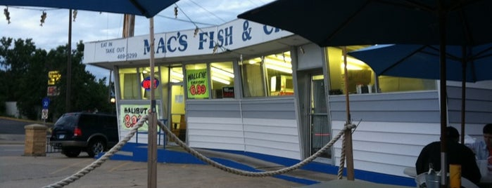 Mac's Fish and Chips is one of Favorites.