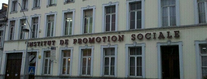 École de Promotion Social is one of Divers.