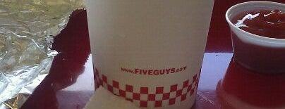 Five Guys is one of Tempat yang Disimpan rodney.