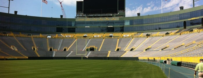 Lambeau Field is one of NFL stadiums.