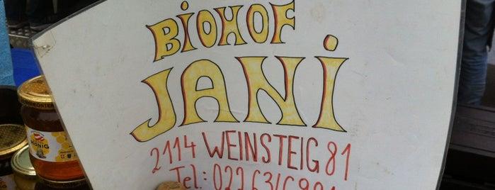 Biohof Jani is one of Bio-Restaurants in Wien.