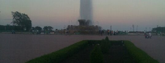 Clarence Buckingham Memorial Fountain is one of South Loop Chicago.