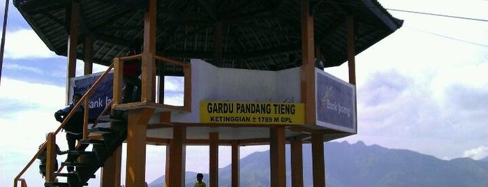 Gardu Pandang Tieng is one of Beautiful Dieng.