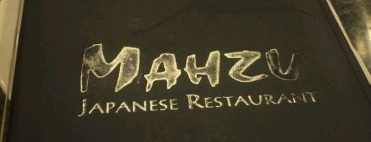 Mahzu Japanese Restaurant is one of Locais salvos de Lizzie.