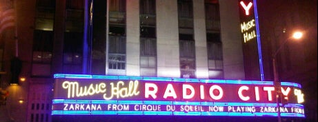 Radio City Music Hall is one of New York III.