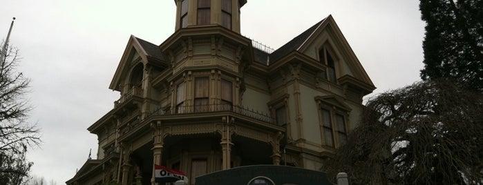 Flavel House Museum is one of Astoria, Oregon.