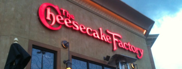 The Cheesecake Factory is one of Lugares favoritos de Sofia.