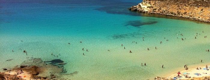 Spiaggia dell'Isola dei Conigli is one of Die schönsten Strände Europas.