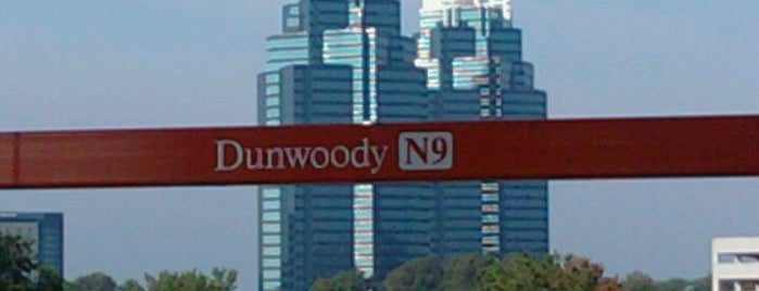 MARTA - Dunwoody Station is one of Atlanta At Its Best.