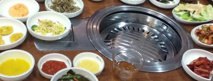 Ju Shin Jung Korean Charcoal BBQ is one of My favorites for Korean Restaurants.