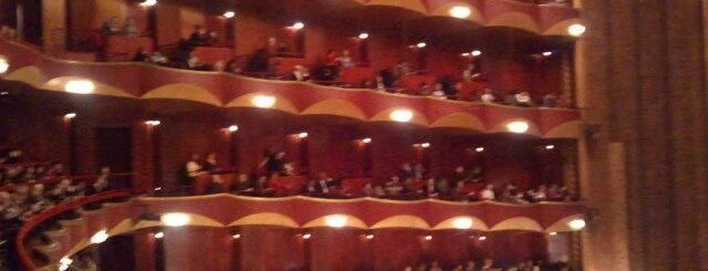 Metropolitan Opera is one of Pretend I'm a tourist...NYC.