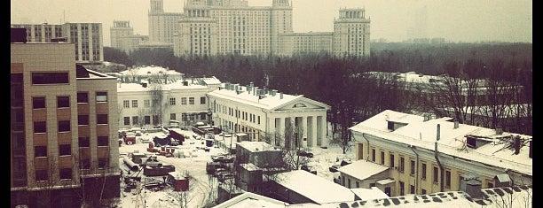 Экономический факультет МГУ is one of TOP of Moscow.