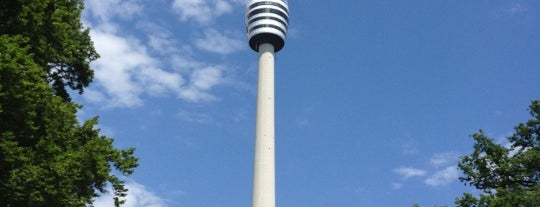 Fernsehturm Stuttgart is one of Stuggi4sq.