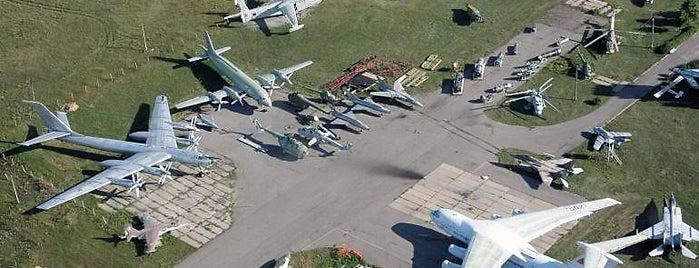 Державний музей авіації is one of Posti che sono piaciuti a Александр.
