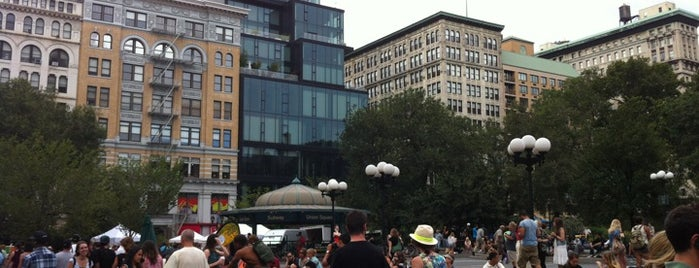 Union Square Park is one of Guide to New York's best spots.